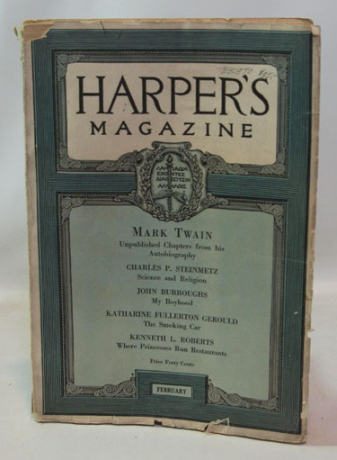 Harpers Magazine (February, 1922